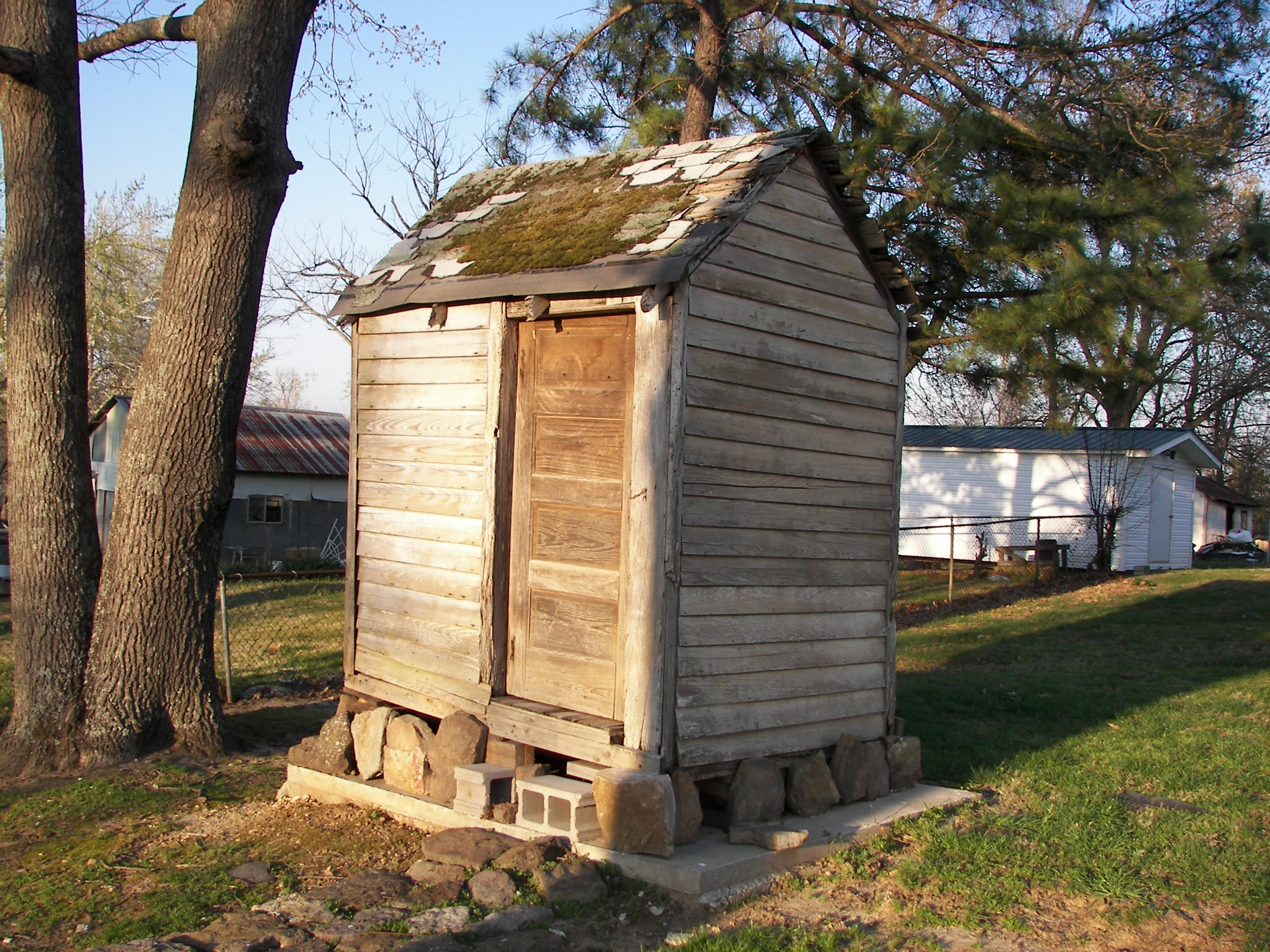 "Herron Center Has A ""New"" Outhouse!"