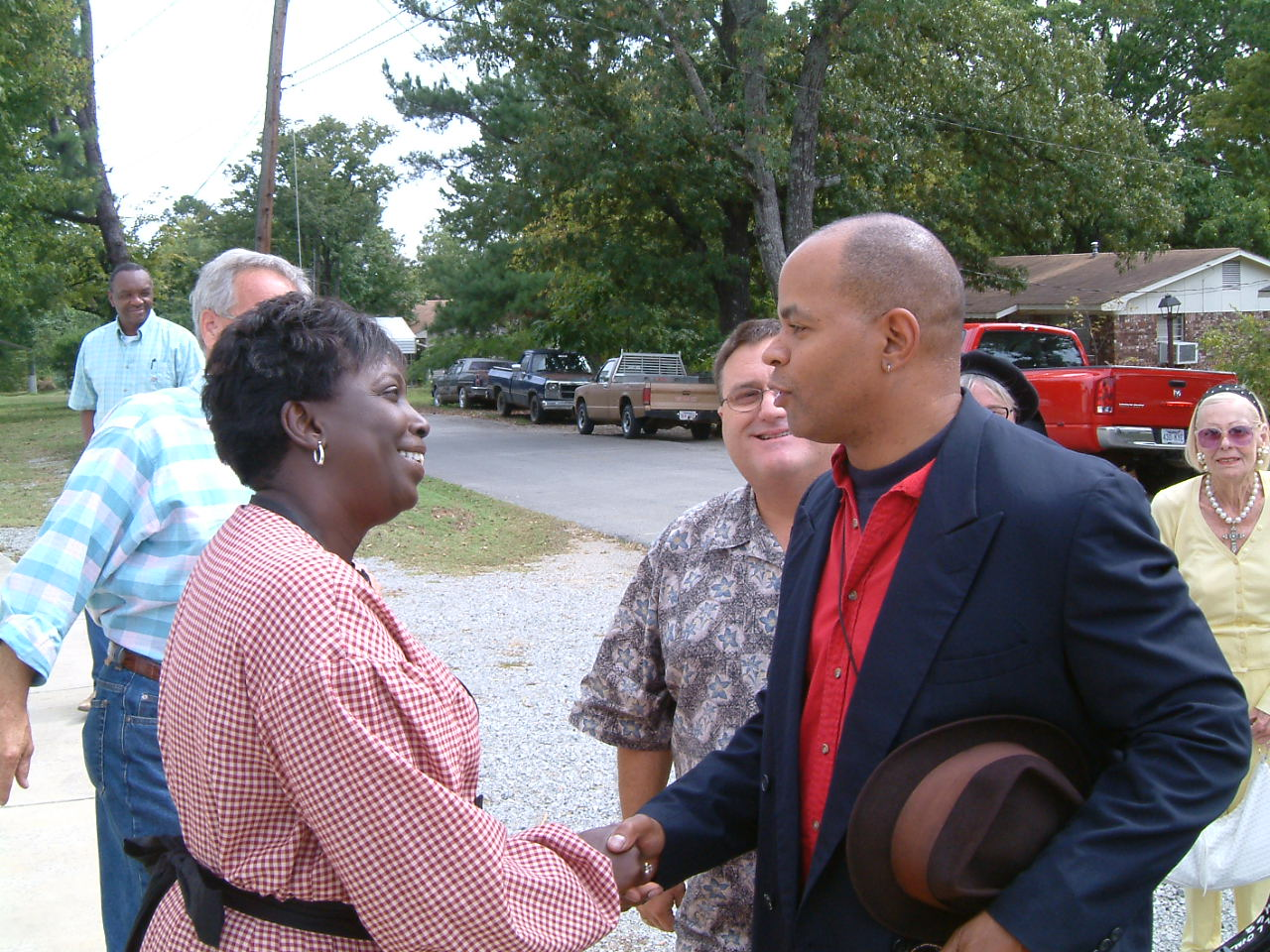 Visit By Blues Singers Guy Davis and CeDell Davis