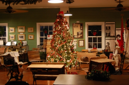 Christmas Tree at Eddie Mae Herron Center