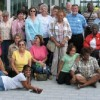 Our group, at the Clinton Presidential Library