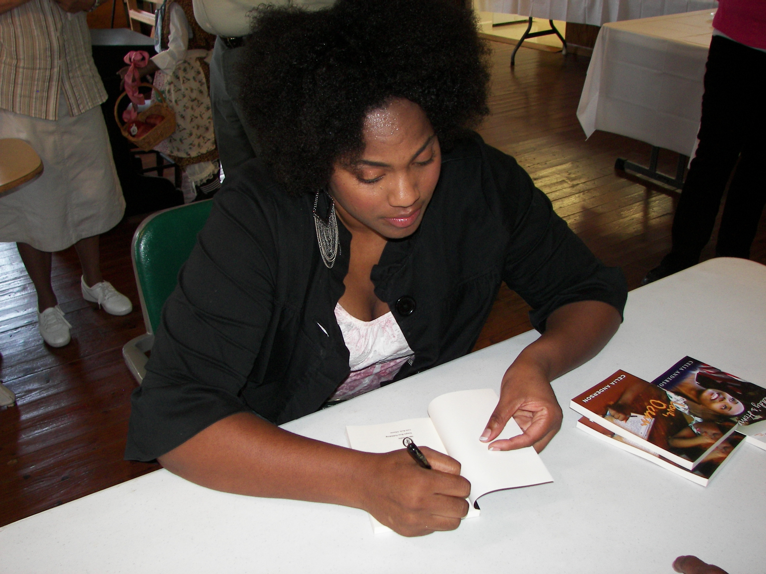 Celia Anderson Book Signing