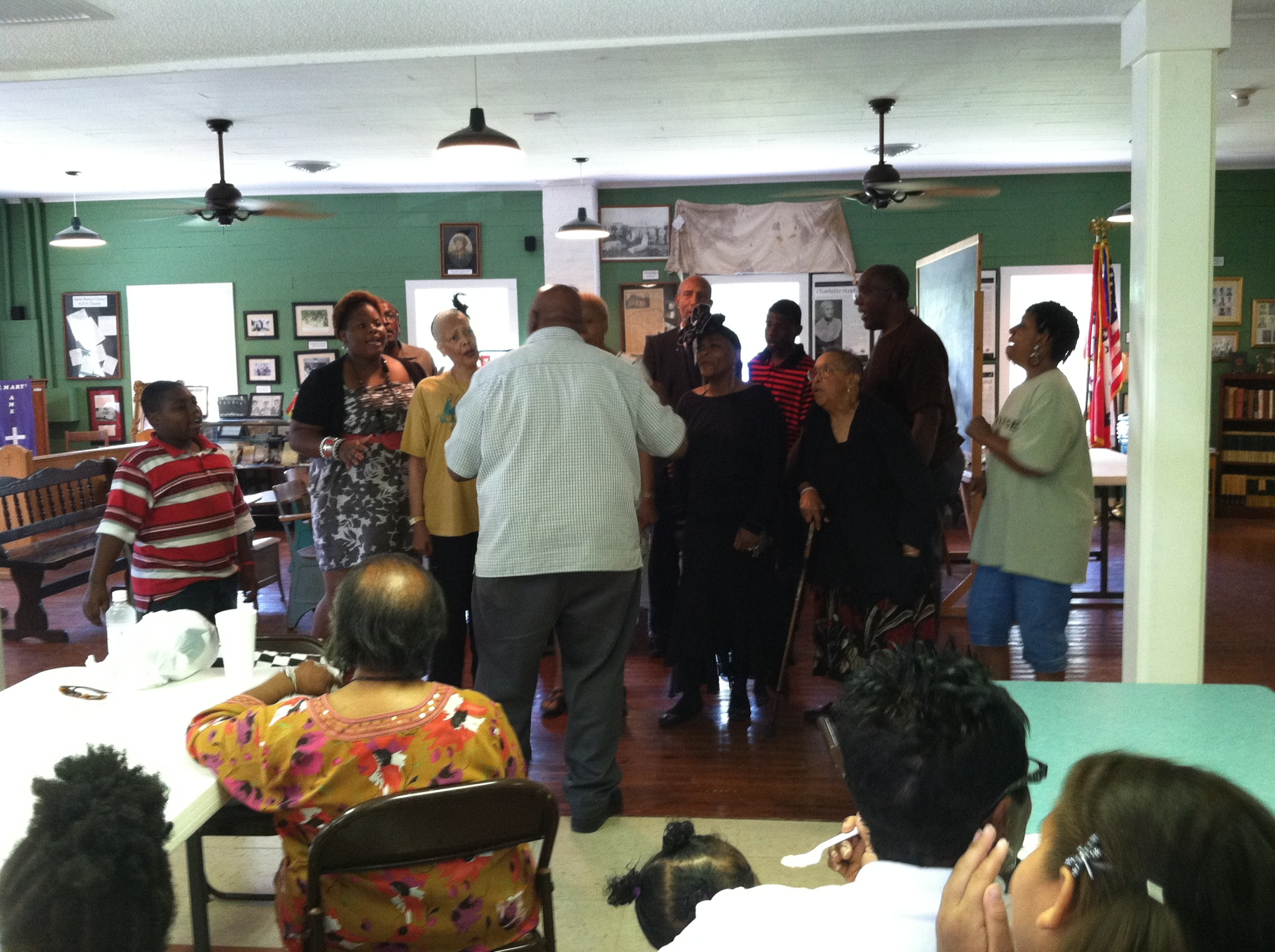West Central Church of Christ Perform at Juneteenth Celebration