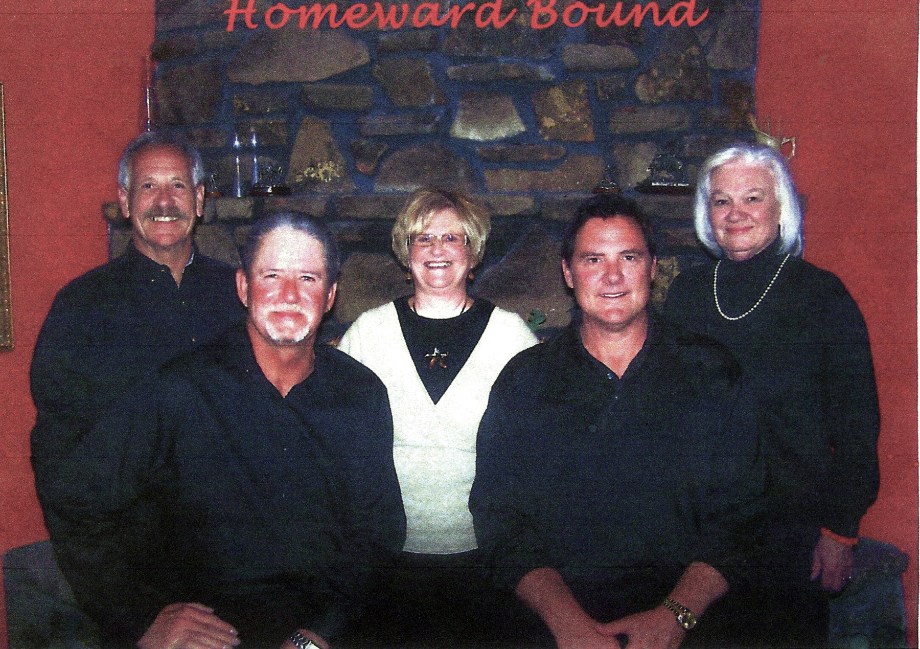 Southern Gospel Quartet Homeward Bound