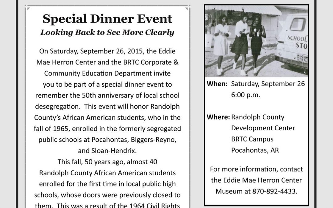 50th Anniversary of School Integration